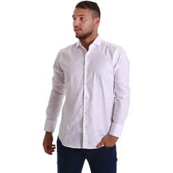 textil Hombre Camisas manga larga Gmf 971103/01 Blanco