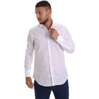 textil Hombre Camisas manga larga Gmf 971111/11 Blanco