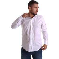 textil Hombre Camisas manga larga Gmf 971250/01 Blanco