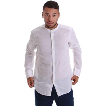 textil Hombre Camisas manga larga Gmf 971306/01 Blanco