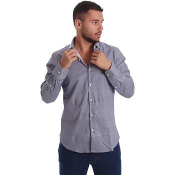 textil Hombre Camisas manga larga Gmf 971185/03 Negro