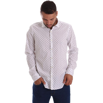 textil Hombre Camisas manga larga Gmf 971200/01 Blanco