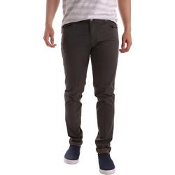 textil Hombre Pantalones con 5 bolsillos Sei3sei PZV17 71339 Marrón