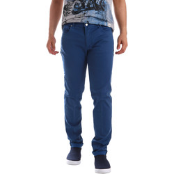 textil Hombre Pantalones con 5 bolsillos Sei3sei PZV17 71339 Azul