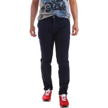 textil Hombre Pantalones chinos Sei3sei PZV20 7148 Azul