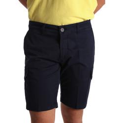 textil Hombre Shorts / Bermudas Sei3sei PZV130 7148 Azul