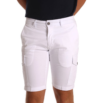 textil Hombre Shorts / Bermudas Sei3sei PZV130 7148 Blanco