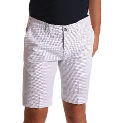 textil Hombre Shorts / Bermudas Sei3sei PZV132 71336 Blanco