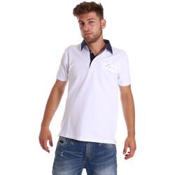 textil Hombre Polos manga corta Bradano 000115 Blanco