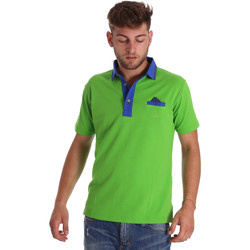 textil Hombre Polos manga corta Bradano 000114 Verde