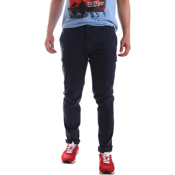 textil Hombre Pantalones chinos Sei3sei PZV156 71341 Azul