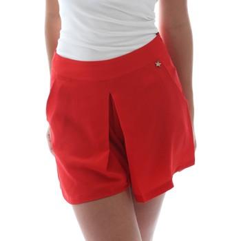 textil Mujer Shorts / Bermudas Fornarina BER1L17C98176 Rojo