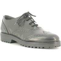 Zapatos Mujer Derbie Café Noir XV105 Gris
