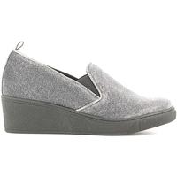 Zapatos Mujer Mocasín Grunland SC2056 Gris