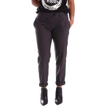 textil Mujer Pantalones chinos Gaudi 64FD20201 Gris