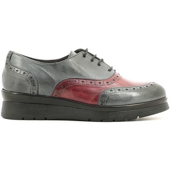 Rogers 1520 Gris - Zapatos Derbie Mujer 9900