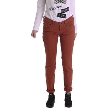 textil Mujer Pantalones con 5 bolsillos Fornarina BIR1G41G28050 Marrón