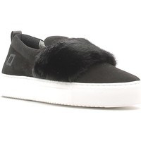Zapatos Mujer Slip on Date A251-SL-FU-BK Negro