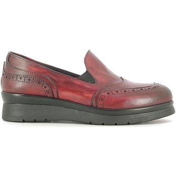 Zapatos Mujer Mocasín Rogers 1522 Rojo