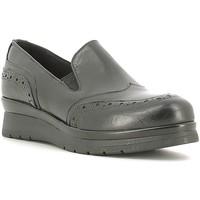 Zapatos Mujer Mocasín Rogers 1522 Negro
