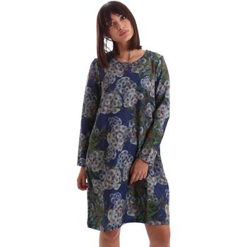 textil Mujer Vestidos cortos Gazel AB.AB.ML.0026 Azul