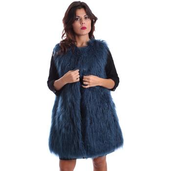 textil Mujer Abrigos Gazel AB.CS.GL.0001 Azul