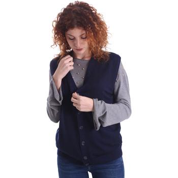 textil Mujer Chaquetas de punto Wool&co WO0004 Azul
