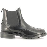 Zapatos Mujer Botines Soldini 19960-B Negro