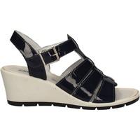 Zapatos Mujer Sandalias Enval 7986 Azul