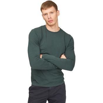 textil Hombre Camisetas manga larga Gas 300187 Verde