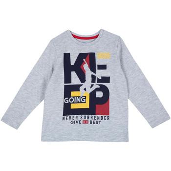 textil Niños Camisetas manga larga Chicco 09006867000000 Gris