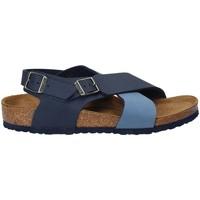 Zapatos Niños Sandalias Birkenstock 1008506 Azul
