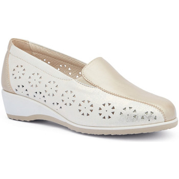 Zapatos Mujer Mocasín Susimoda 4412 Oro