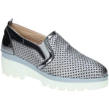 Zapatos Mujer Mocasín Grace Shoes J306 Gris