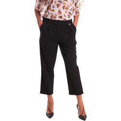 textil Mujer Pantalones chinos Y Not? 17PEY066 Negro
