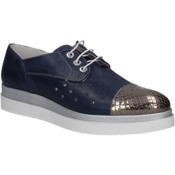 Zapatos Mujer Derbie Keys 5107 Azul
