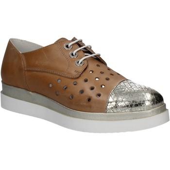 Zapatos Mujer Derbie Keys 5107 Marrón