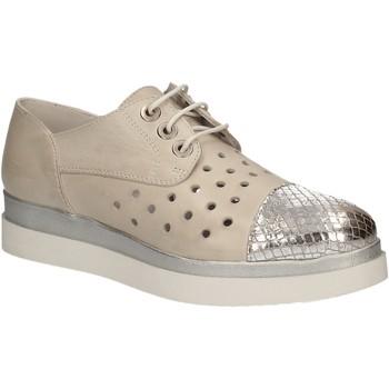 Zapatos Mujer Derbie Keys 5107 Gris