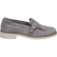 Zapatos Mujer Mocasín Maritan G 160489 Gris