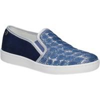 Zapatos Mujer Slip on Keys 5051 Azul