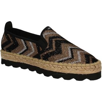 Zapatos Mujer Alpargatas Keys 5345 Negro
