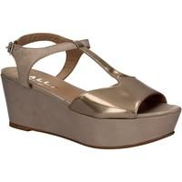 Zapatos Mujer Sandalias Mally 5667 Gris