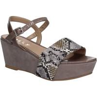 Zapatos Mujer Sandalias Mally 5671 Gris
