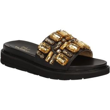 Zapatos Mujer Chanclas Byblos Blu 672102 Negro