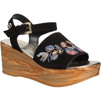 Zapatos Mujer Sandalias Byblos Blu 672210 Negro
