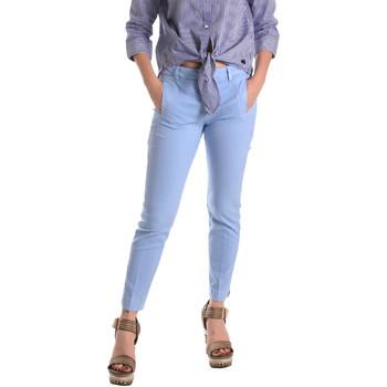 textil Mujer Pantalones chinos Fornarina BE171L74G29118 Azul