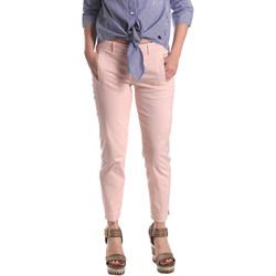 textil Mujer Pantalones chinos Fornarina BE171L74G291C5 Rosado