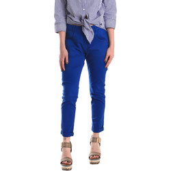 textil Mujer Pantalones chinos Fornarina BE171L75G29112 Azul