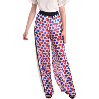 textil Mujer Pantalones fluidos Fornarina BE171L91CA0676 Blanco
