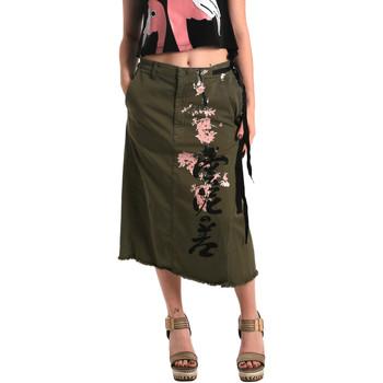 textil Mujer Faldas Fornarina BE172C10G29231 Verde